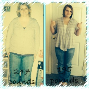 Before and 52lb down!